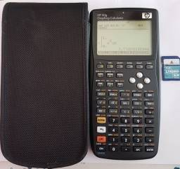 Calculadora HP 50g semi nova + MicroSd Kingston 1Gb
