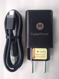 Carregador turbo Power tipo C original Motorola ?