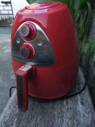 Airfreyer Mondial - Family inox red