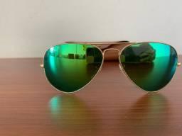 Vendo Rayban espelhado verde