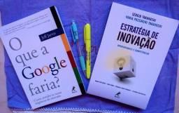 Livros O que a google faria? e Estratégia de Inovação Novo Lacrados