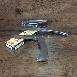 Canivete 100% inox com trava