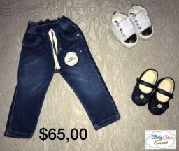 Calça jeans para bebês