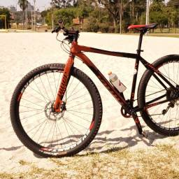 Niner One 9 29er black/orange full rigid