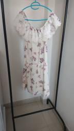 Vestido estilo ciganinha florido - 30 reais