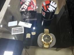 Relógio dourado xgames