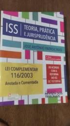 Livro ISS: Teoria, prática e jurisprudência.