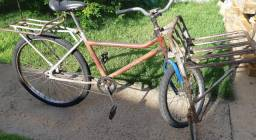 Bicicleta Cargueira Antiga Caloi Super forte