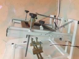 Máquina de estampar 5x1 em serigrafia
