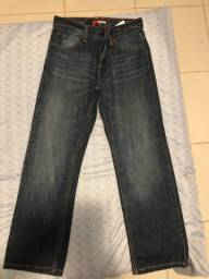 Calça jeans original Tommy Hilfiger . Masculina. Infantil . TAM 10