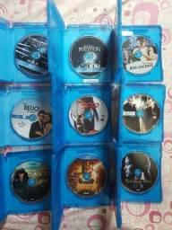 Lote 7 Blu-ray Filmes Originais Coleção