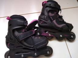 Patins oxelo active fit 3 - 76mm adulto (40)