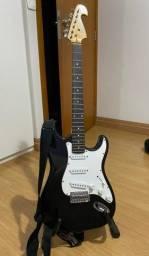 Guitarra Elétrica Memphis preta