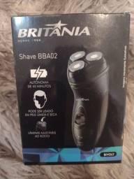 Aparelho de Barbear/Barbeador Elétrico Britânia - Shave BBA02 Seco e Molhado<br><br>