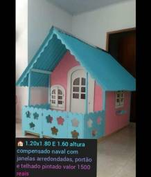 casinhas de boneca a ´partir 660 reais