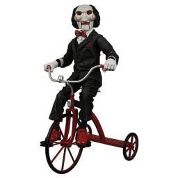 Boneco Billy Jogos Mortais Com Triciclo 30 Cm Neca Original