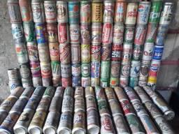 Latas antigas (200) cerveja refrigerante para DECORAÇÃO de bares garagens oficinas