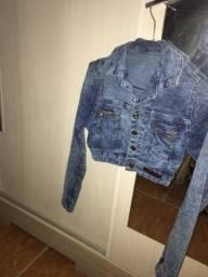 Vendo Jaquetinha Jeans usada mas em perfeitas condições da Meitrix