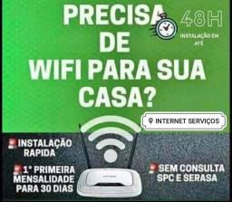 Internet com instalação e aparelho grátis