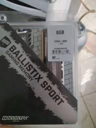 Memória RAM ddr4 16 no total