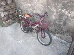 Bike infantil de criança (menina )