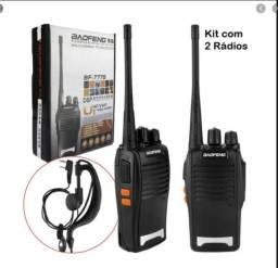 Rádio Comunicador Walk Talk 16 canais - Baofeng