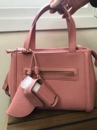 Título do anúncio: Arezzo - Bolsa tote rosa média donna