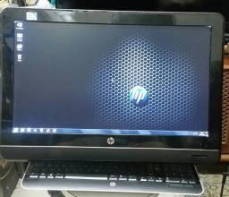 Computador HP 6000 Pro All-In-One - Dual Core 3,06 GHz - Full HD - Ótimo estado