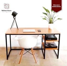 Mesa com prateleiras * escrivaninha * estilo industrial