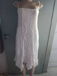 Vestido branco tamanho único