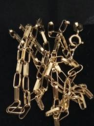Corrente de ouro 750 k