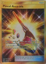 Oferta Carta Pokémon Treinador Pincel Arco-íris Item 182/168
