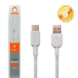 Título do anúncio: Cabo USB Tipo C Cabo 1 metro de Dados para Celular Motorola Xiaomi Samsung