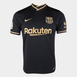 Camisa do Barcelona 20/21 (preta)