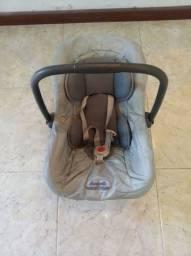 Bebê conforto Burigotto cinza