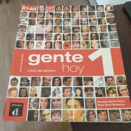 Livro de espanhol - GENTE HOY 1, Curso de español, Libro del alumno