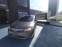 Honda Civic LXS COMPLETO PLACA A Ar  Couro Airbag ABS SOM RODAS IMPECÁVEL