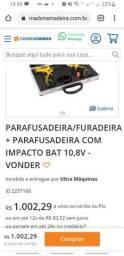 Kit parafusadeira/furadeira e parafusadeira de impacto