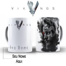 Xicaras Vikings Rangar, Lagertha , Ivar Fazemos Com Sua Imagem