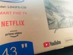 Tv Smart 43 Polegadas ABG Nova Lacrada na caixa, 1 ano de garantia em perfeito estado .