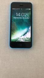 Iphone 5c 16 gb azul novoo