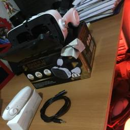 Óculos de Realidade Virtual Com Headphone