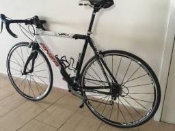 Bicicleta Speed Road Triathlon Carbono 56