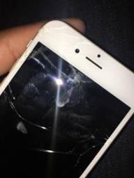 IPhone 6s branco retirada de peças