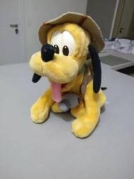Boneco Pelucia Pluto Safari - Original Disney