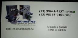TEC-WILL-PCS Manutenção de computadores, impressoras, placas mãe e muito mais 13996413137