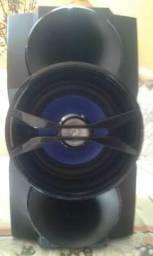 Vendo essas duas caixas de som Philips de 250watts RMS cada(Leia o anuncio)