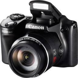 Câmera Canon Powershot Sx510 Hs Semiprofissional - seminova