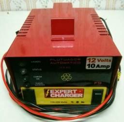 Carregador veicular de bateria automotivo 12V c/ led carga