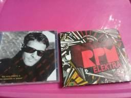 Três CDs originais para colecionador